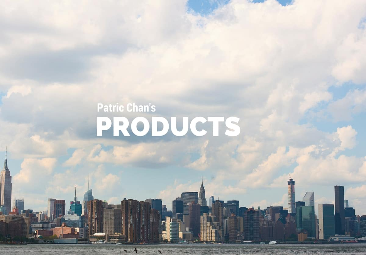 Patric Chan's Products