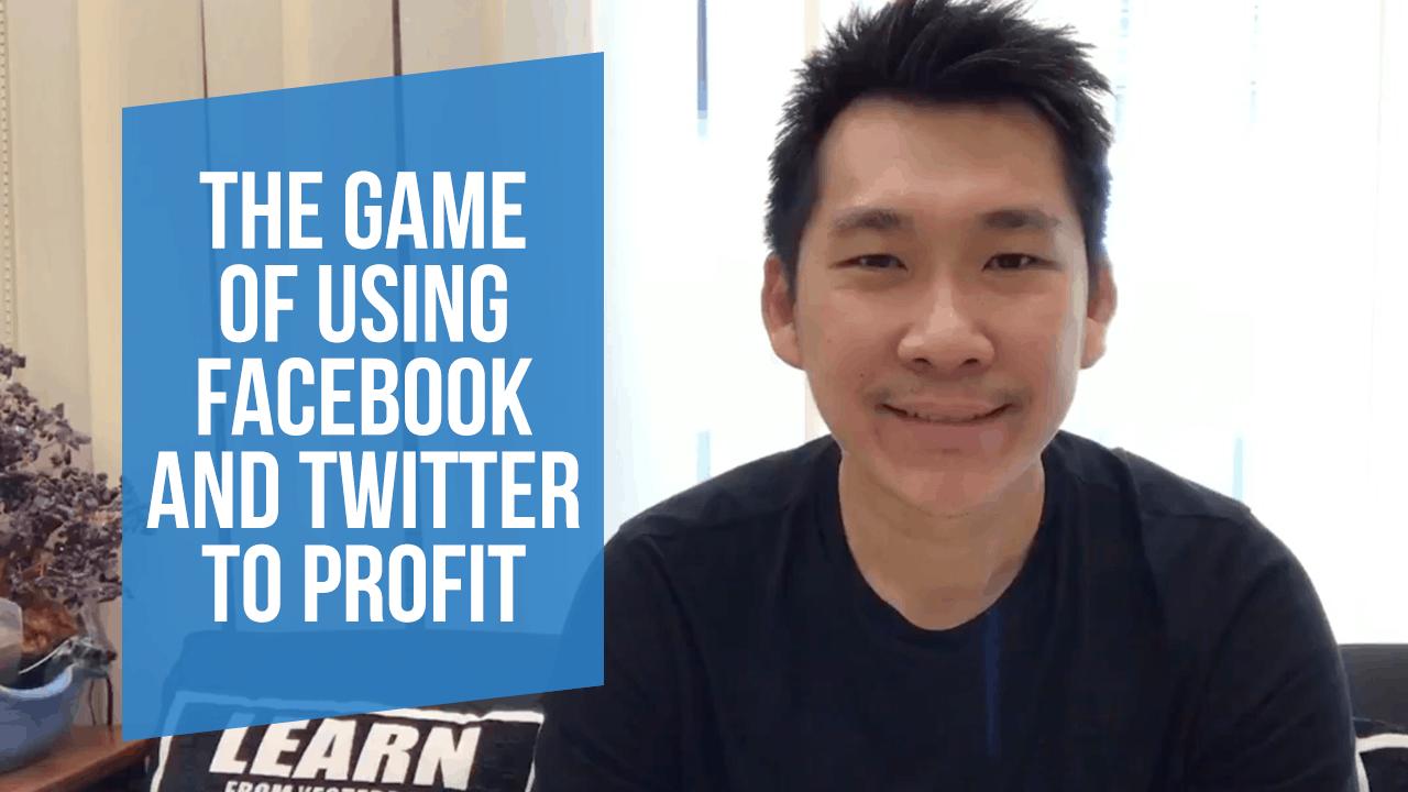Facebook-Twitter-Game
